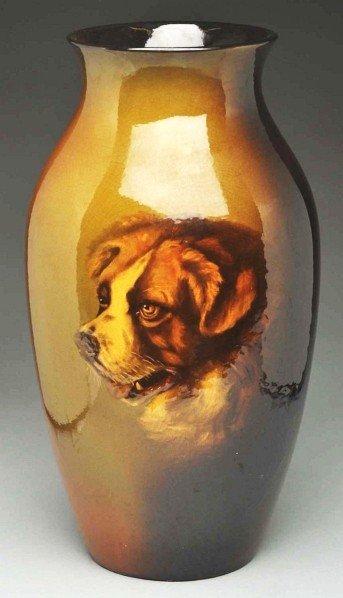 301: Roseville Rozane St. Barnard Portrait Vase.