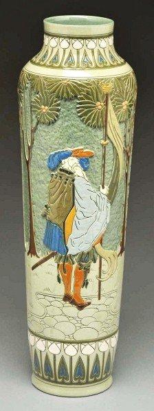 303: Roseville Della Robbia Vase.