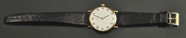 585 14K Mens Movado Dress Wrist Watch