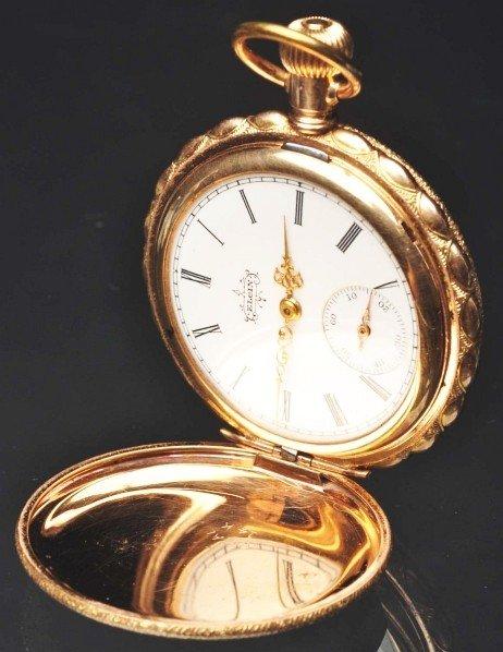 617: Gold-Filled Elgin Watch Co. Pocket Watch. - 3
