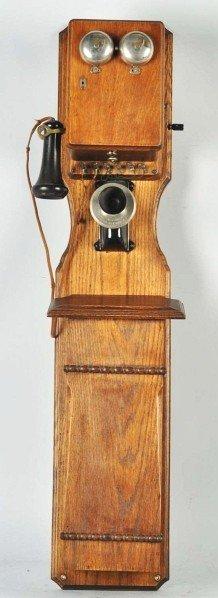 702: Kellogg Tandem Wall Telephone.