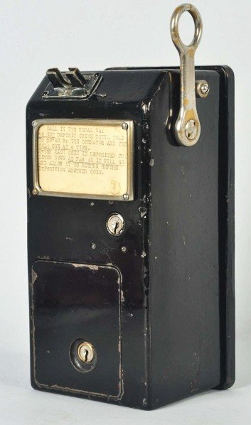 705: Western Electric 13A Coin Collector. - 3