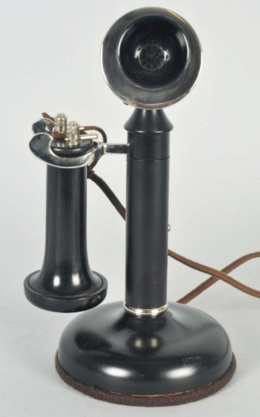 711: Holtzer Cabot Manual Candlestick Telephone.