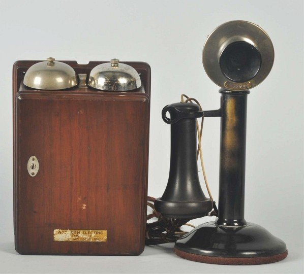 721: Western Electric 20SC Candlestick Telephone.