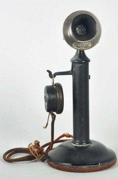 777: Western Electric 44BG Candlestick Telephone.