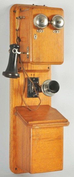 790: North Electric 2-Box Telephone.