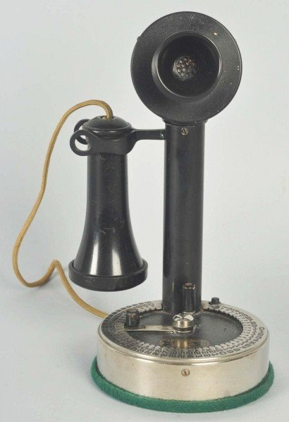 792: Couch Autophone Candlestick Telephone.