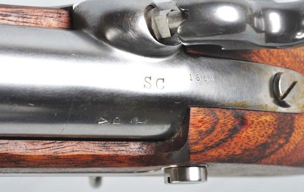 967: Reproduction M1842 Palmetto Musket. - 4