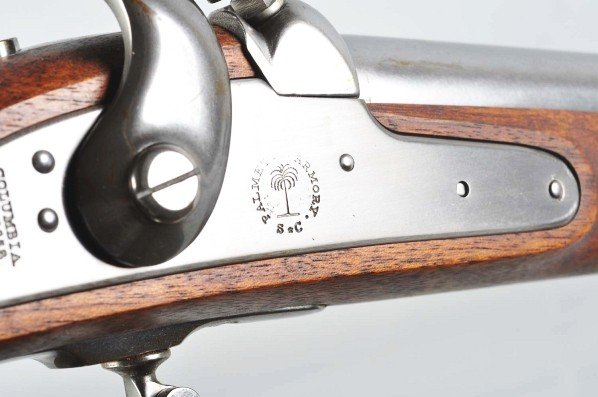 967: Reproduction M1842 Palmetto Musket. - 5
