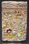 1358 Victorian Calling Card Case