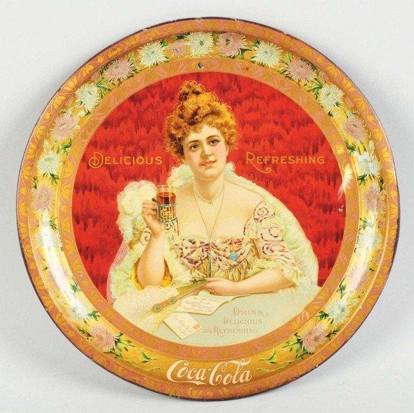 16: 1903 Coca-Cola Serving Tray.