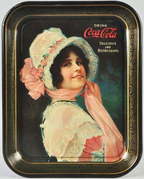 17: 1914 Coca-Cola Serving Tray.