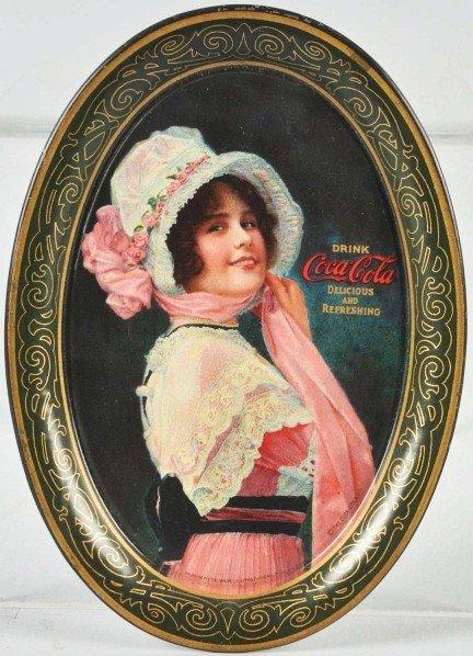 18: 1914 Coca-Cola Change Tray.