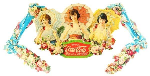 22: Coca-Cola Umbrella Girls Festoon.