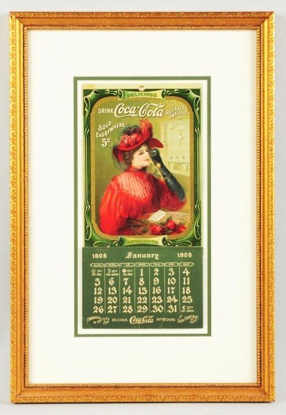 23: 1908 Coca-Cola Calendar.