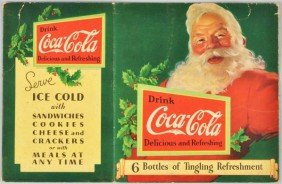 Coca-Cola Santa 6-Pack Sleeve.