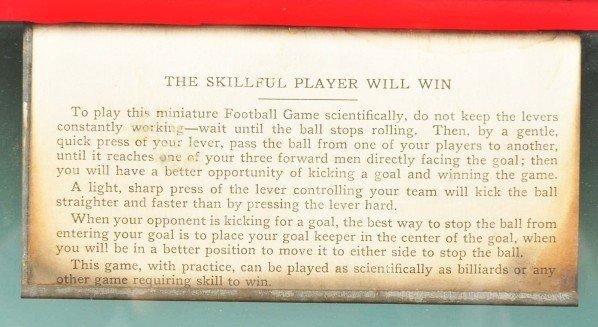 111: Lg. Wooden Play Football Coin-Op. - 3