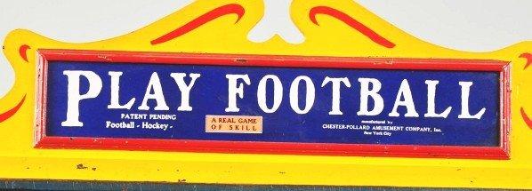 111: Lg. Wooden Play Football Coin-Op. - 5