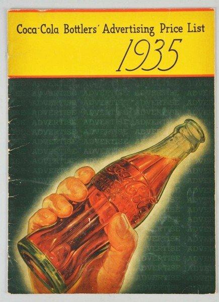169: Coca-Cola Advertising Price List Book.