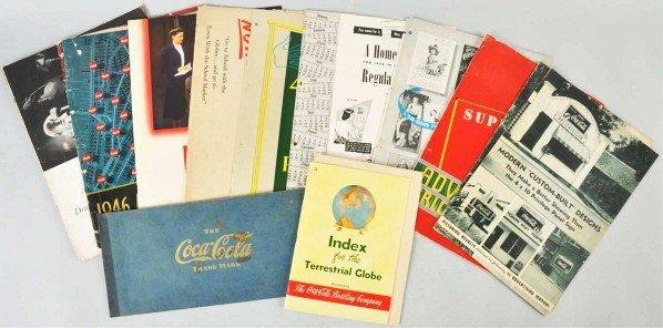 172: Lot of 10: Coca-Cola Books & Booklets.