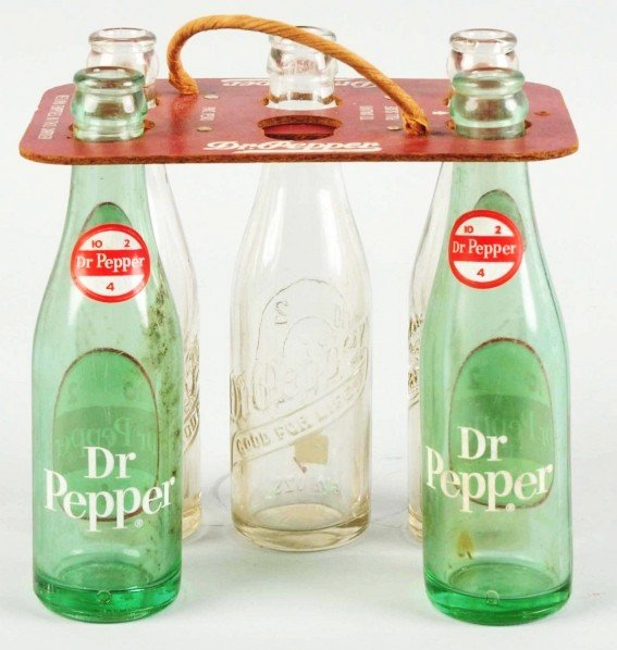 180: Masonite Dr. Pepper 6-Pack Carrier.