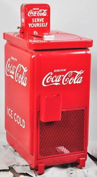 183: Coca-Cola Vendo-Junior Cooler.