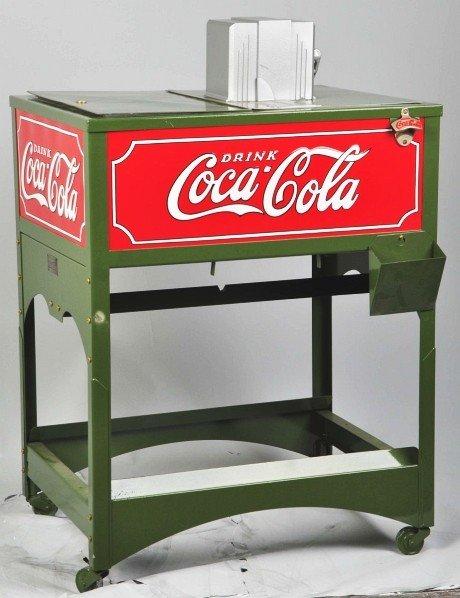 184: Coca-Cola Glascock Cooler.