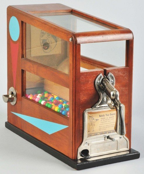 192: Hitler 1¢ Penny Shoot with Gumball Vendor.