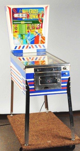 331: Gottlieb Cross Town Pinball Machine.