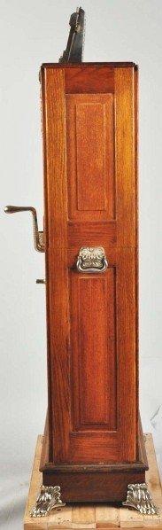 408: Mills 5¢ Owl Upright Slot Machine. - 9