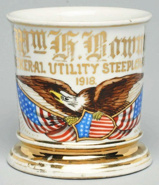 27: General Utility Steeplechase Park Shaving Mug.