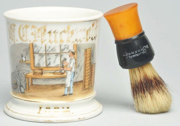 29: Mold Maker Shaving Mug.
