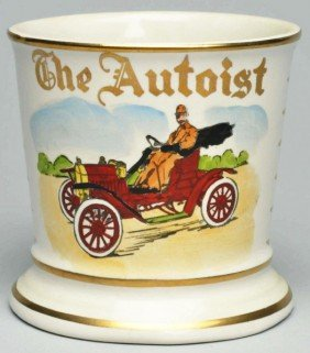The Autoist Shaving Mug.
