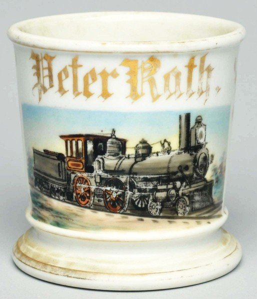 101: Locomotive Shaving Mug.