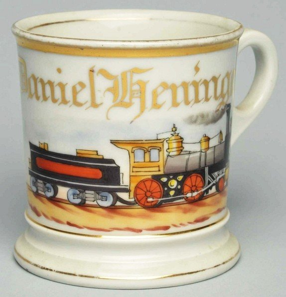 102: Locomotive Shaving Mug.