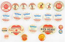 299 Lot of 22 Assorted Advertising Pins