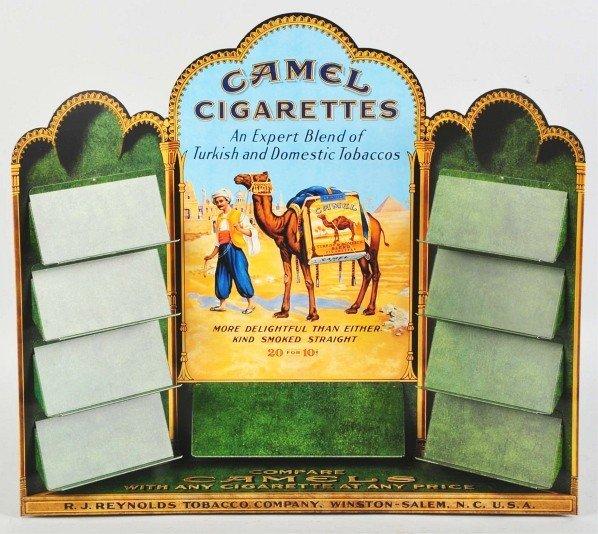 551: Camel Cigarettes Zippo Display.