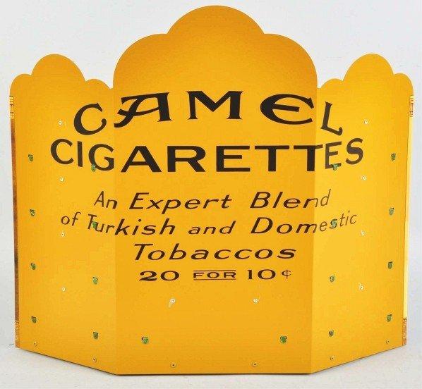 551: Camel Cigarettes Zippo Display. - 2