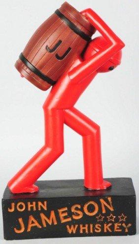 John Jameson Whiskey Robot Advertising Figure.