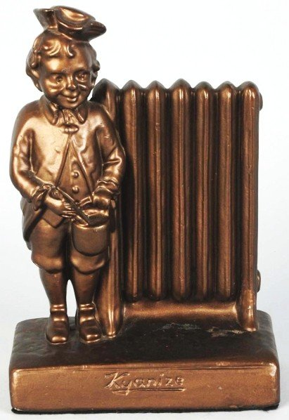 605: Kyanize Heat Resistant Radiator Advertising Figur