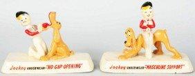 610: Lot of 2: Jockey Underwear Advertising Figures.