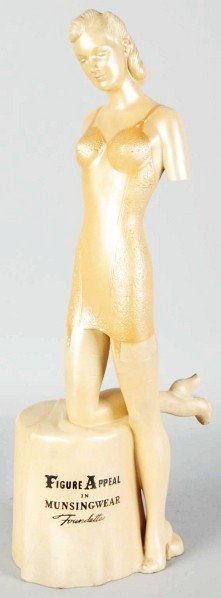 Musingwear Lingerie Advertising Figure.