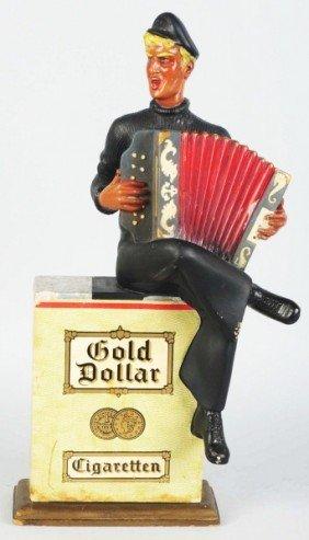 616: Gold Dollar Cigarettes Advertising Figure.