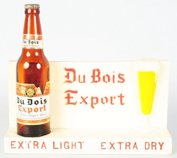 624: Du Bois Expert Beer Bottle Advertising Figure.