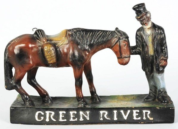 626: Green River Whiskey Advertising Figure.
