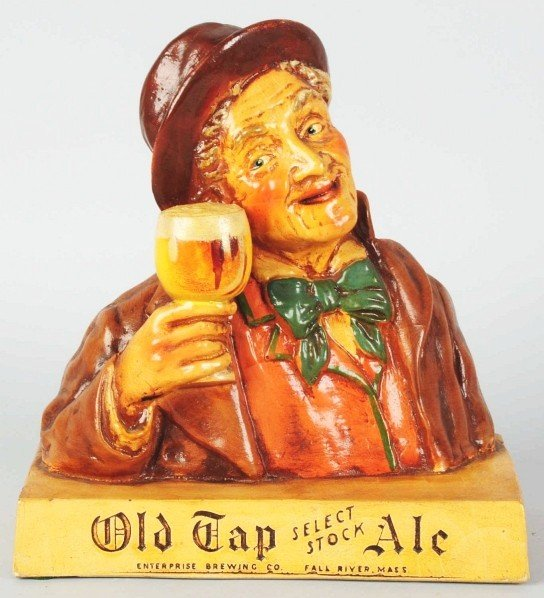 639: Old Tape Ale Bar Back Advertising Figure.