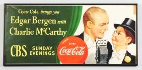 Paper Bergen & McCarthy Coca-Cola Poster.