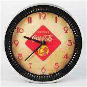 987: Coca-Cola Neon Spinner Clock.