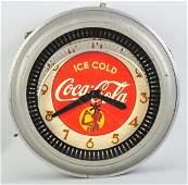 993: Coca-Cola Neon Spinner Clock.