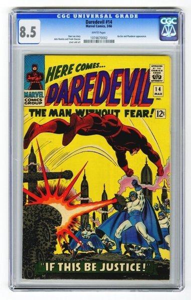 3: Daredevil #14 CGC 8.5 Marvel Comics 3/66.
